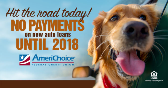 No Payments on New Auto Loans Until 2018!